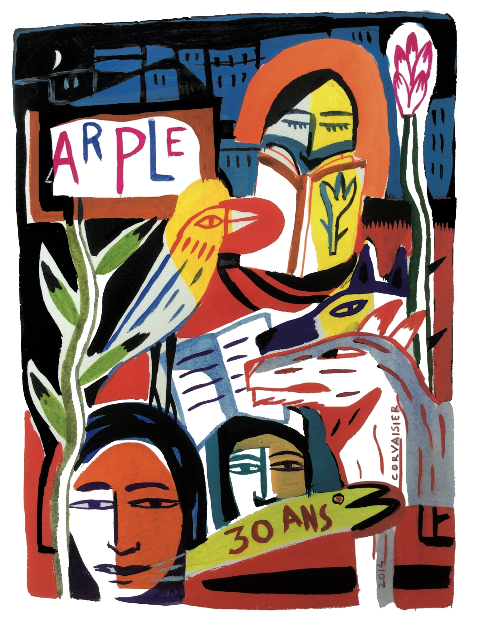 illustration 30 ans Arple Laurent Corvaisier
