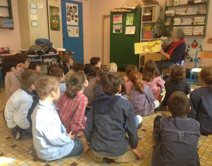 Intervention école lire à voix haute album Aboie Georges de Jules Feiffer