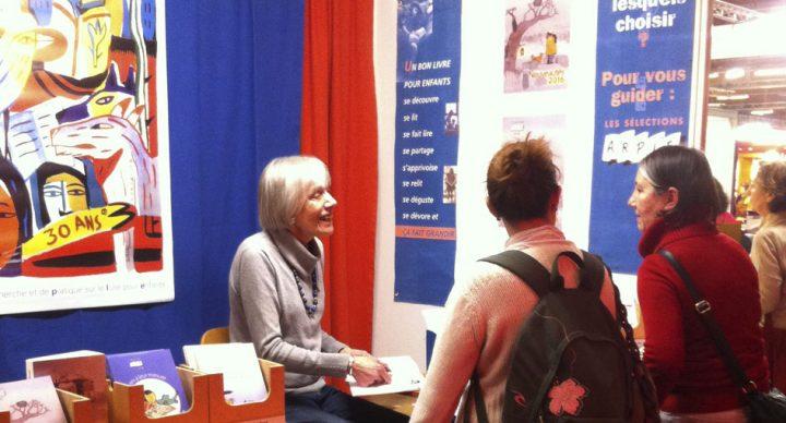 ARPLE au Salon du livre et de la presse jeunesse Montreuil